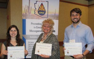 Environmental Professions of Arizona Awards Juliana Levi their Annual Scholarship
