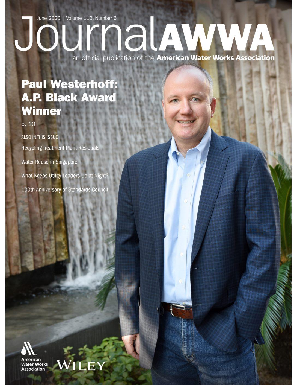 Westerhoff receives 2020 A.P. Black Award from AWWA
